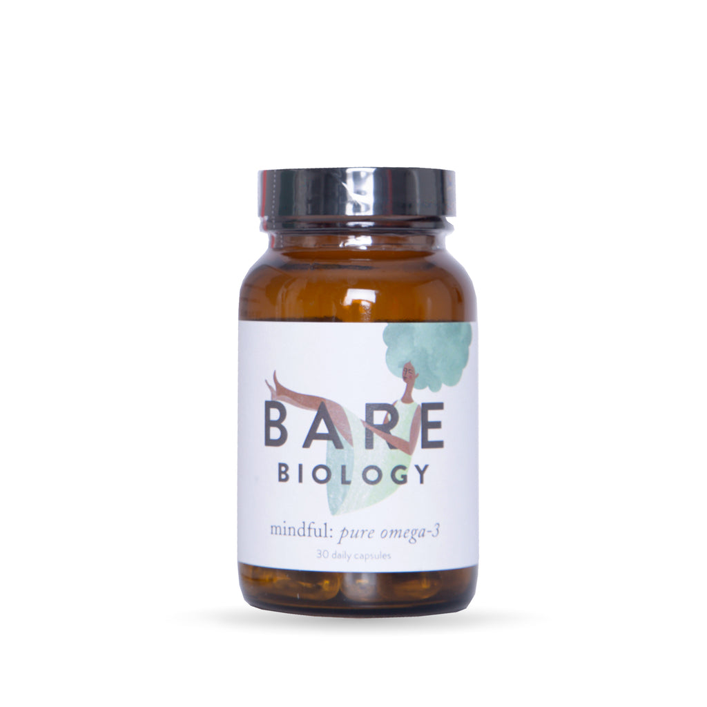Bare Biology omega 3 supplement mindful supplement DHA EPA high-quality fish oil brain health