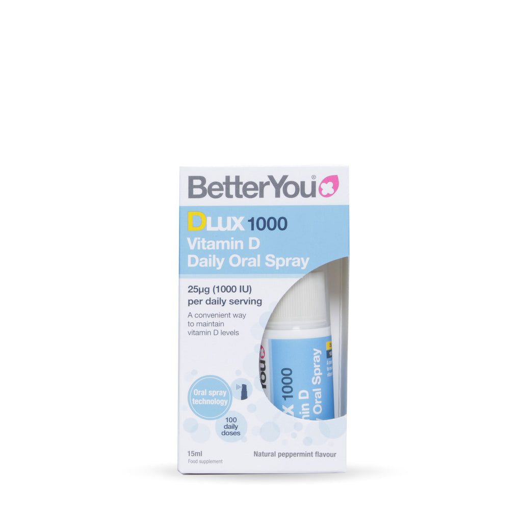 Betteryou vitamin D supplement spray 1000IU DLUX health and wellness marketplace