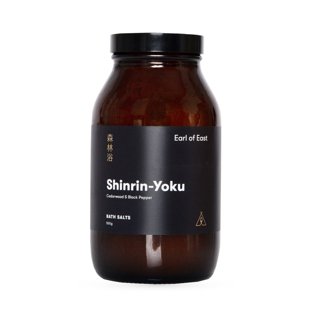 earl of east bath salts shinrin-yoku