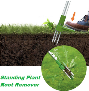 Root Tool Portable Claw Manual Weeder Long Remove Handle Lightweight Remover - EbazoneShop