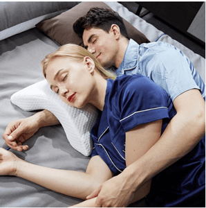 Pillow Arm Memory Foam Sleep Sleeping Rebound Slow Shaped Neck Cuddle Pressure Tunnel Couples Cuddling Curved - EbazoneShop