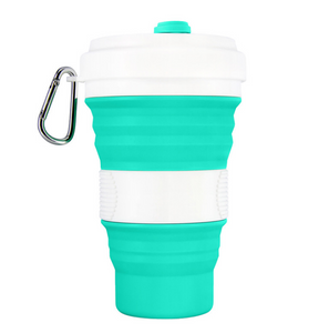 Cup Silicone Folding Travel Collapsible Portable Telescopic Retractable Camping Coffee Outdoor Water Mug Food Grade Cups Foldable Tea Camp Drinking - EbazoneShop