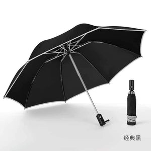 Umbrella - Upside Down with Safety Reflective Strip -50 Inch Windproof - EbazoneShop