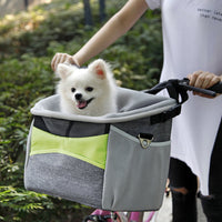 Doggy Boo Fashionable Bicycle Pet Carrier Basket - EbazoneShop