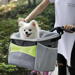 Bicycle pet frame dog basket