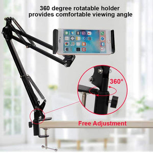 Arm with Cell Phone / Tablet Stand - Watch movies and books without hands - EbazoneShop