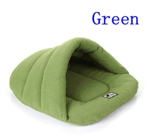 Dog Bed mat Plant Cute Shell Shape Washable Comfy Soft Fleece Cats Winter - EbazoneShop