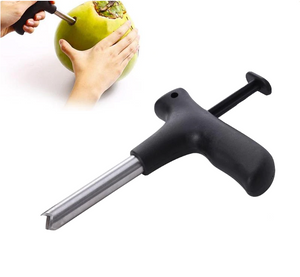 Coconut Opener Tool Steel Stainless Set Hammer Drill Kitchen Water Young Tools Hole Open Kit Puncher Knife Mallet Grade Punch - EbazoneShop