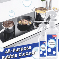 Kitchen Bubble Cleaner, Foam Spray Mould Remover Multi-Function Heavy Duty Cleaner All Purpose - EbazoneShop