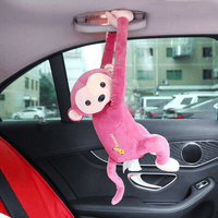 Creative Tissue Box Monkey Paper Napkin Case Cute Car Paper Boxes Napkin Hol G4 - EbazoneShop