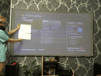 16:9 Portable Foldable Anti-light Projector Screen 3D Home Cinema HD 1080P Projection Screen 50/60/63/72/84/100/112/120/130 Inch - EbazoneShop