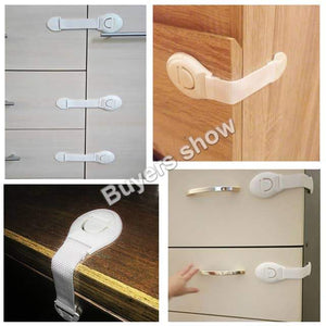 Safety Straps Lock Drawers and Doors For Babys, Childrens - EbazoneShop