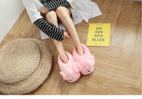 Women and Girls Flamingo Indoor Slippers Cute Animal Slippers Warm Memory Foam - EbazoneShop