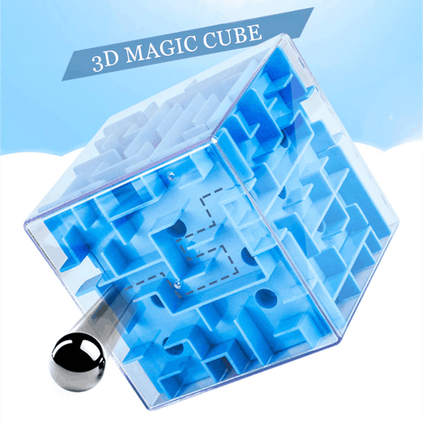 3D Cube Maze - Stimulate Game Your Children's Imagination - EbazoneShop