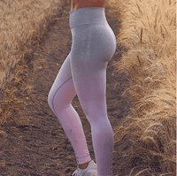 High-waisted sporty tights for women highlights lower body - EbazoneShop