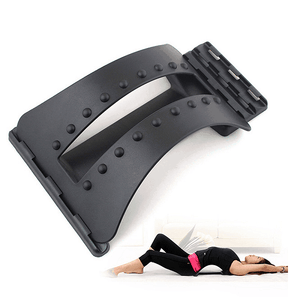 Back Massager Stretching Stretch Device Stretcher Magnetic Pain Support Equipment Magic Stretche Refle - EbazoneShop