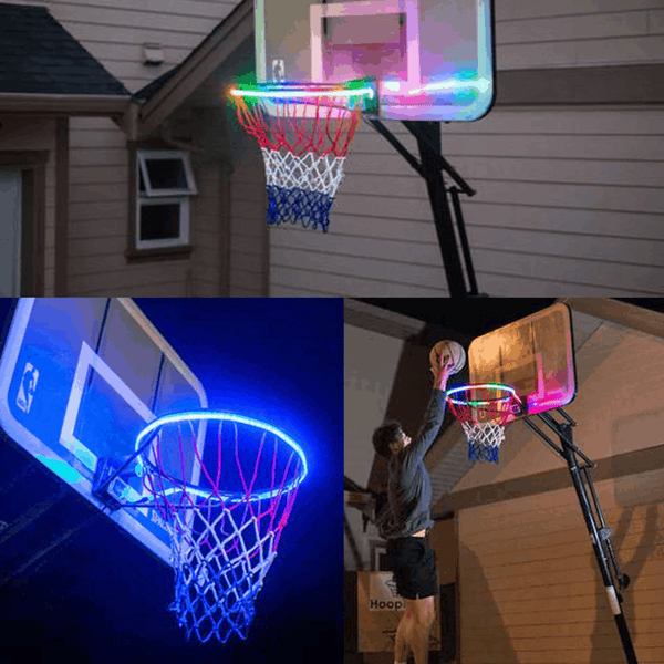 LED basketball hoop lights - an attractive game at night - EbazoneShop