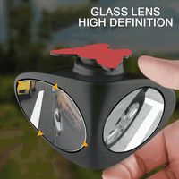 360 Degrees Rotatable Right Or Left Mirror Car Stick On Side Blind Spot
