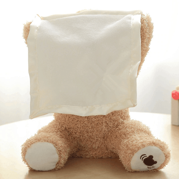 Peek-a-boo Stuffed Teddy Bear Play Hide Seek - EbazoneShop