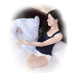 Soft U-shape Boy fr1end Arm Pillow Sleeping Bed Hug Washable Cushion - EbazoneShop