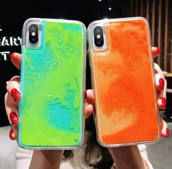 Cell Phone Cases & Phone Accessories Luminous Neon Sand iPhone Case - EbazoneShop