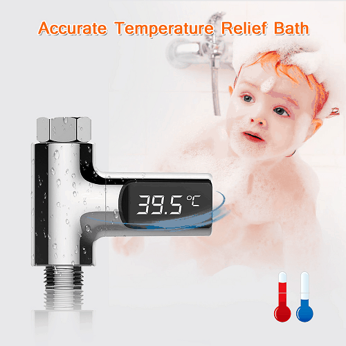 LED Digital Thermometer Display Shower Water Temperture - EbazoneShop