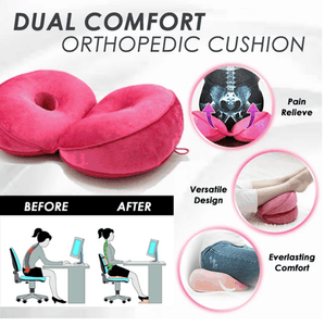 Double Memory Pillow For Maximum Multiple Comfort Sitting - EbazoneShop