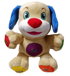 Puppy puppet teaches your children to learn, sing and especially laugh - EbazoneShop