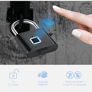 Keep Your Property Secured With Smart Fingerprint Lock - EbazoneShop