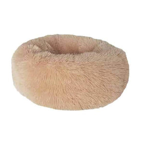 Long Plush Comfy Calming & Self-Warming Bed for Cat & Dog, Anti Anxiety, Furry, Soothing, Fluffy, Washable, - EbazoneShop