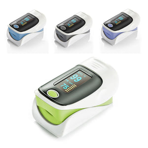 LED Finger Pulse Oximeter spo2 Monitor Fingertip Oxygen Saturation - EbazoneShop