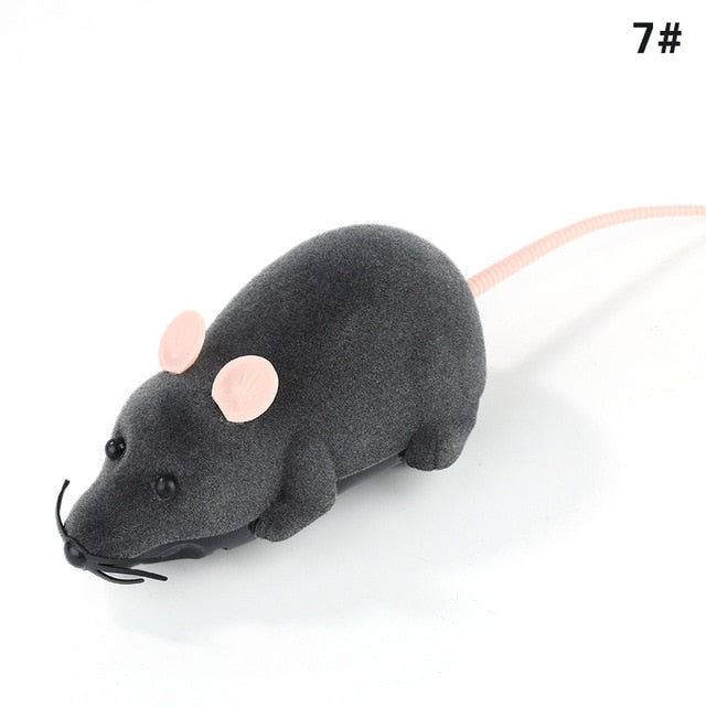 Wireless Remote-Controlled Mouse Simulation Electronic For Kitten Cat Toy - EbazoneShop