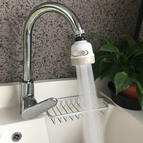 New Moveable Kitchen Tap Head 360° Rotatable Faucet Water Saving Filter - EbazoneShop