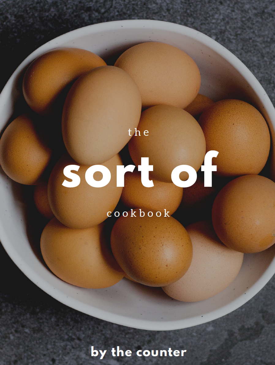 the sort of cookbook (Original price)