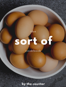 the sort of cookbook (Donation added)