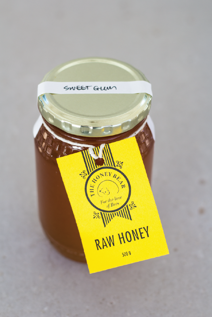 Honey Bear Sweetgum Honey Jar