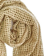 Load image into Gallery viewer, Akari Cashmere Shawl in Caramel