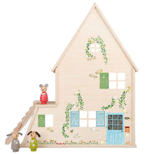 Load image into Gallery viewer, Moulin Roty Doll House with Furniture