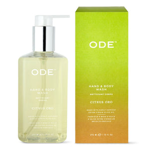 ODE Citrus Oro Hand & Body Wash, 10oz