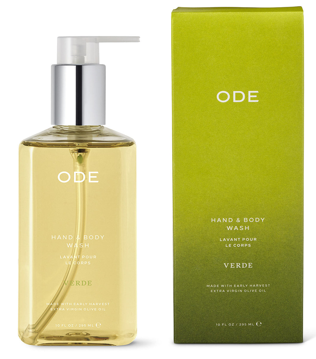 ODE Verde Oro Hand & Body Wash, 10oz