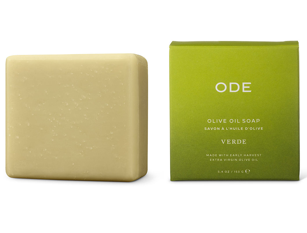 ODE Verde Olive Oil Soap, 5.4oz