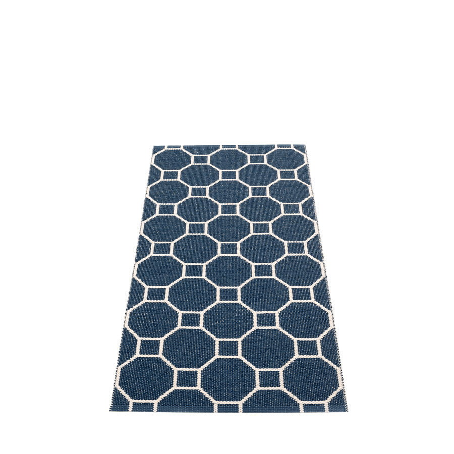 Rakel Rug in Dark Blue