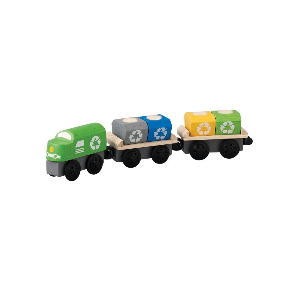 PlanToys Recycling Train