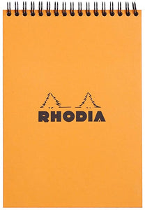 Rhodia No16 Lined Pad Orange