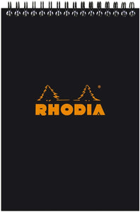 Rhodia No16 Lined Pad Black