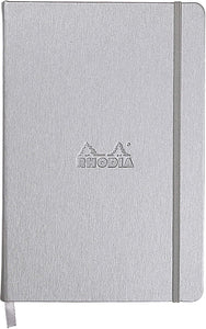 Rhodia Webnotebook Lined Silver A5