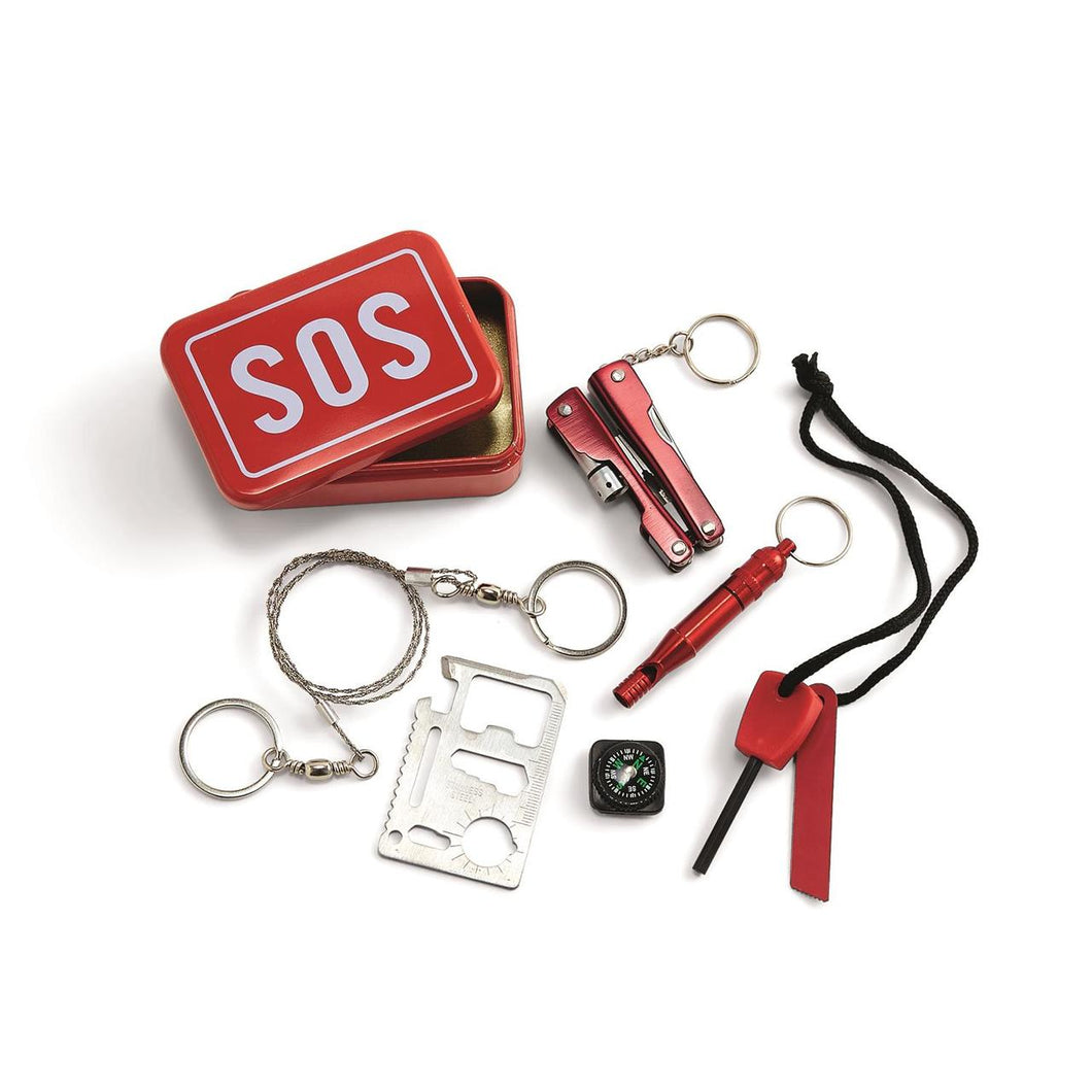 SOS Emergency Kit in a Tin