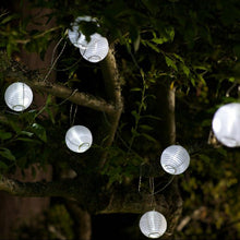 Load image into Gallery viewer, Solar String Lights, White 10 Count
