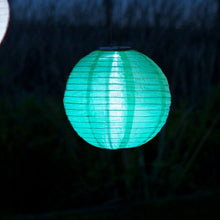 Load image into Gallery viewer, Round Solar Lantern, Mint