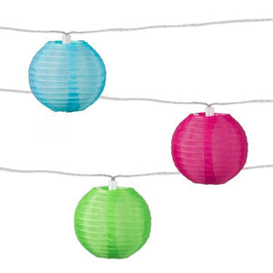 Solar String Lights, Tropical Fruit 10 Count